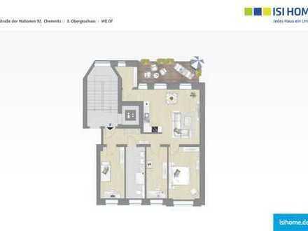 Erstbezug- Chemnitzer 4 Raumwohnung mit Balkon