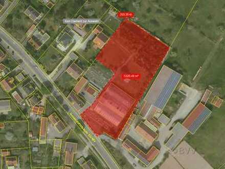 Heilsbronn, Grundstück mit 5300 m², nur 350 Mtr. in die Altstadt