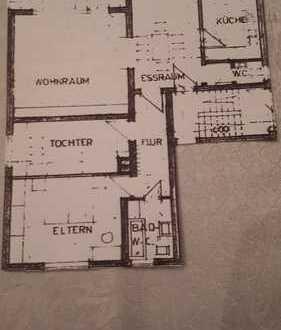 Freundliche, gepflegte 4-Zimmer-Wohnung zur Miete in Pfungstadt
