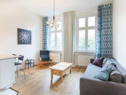 Charmante 2-Zimmerwohnung mit Balkon und Stellplatz - direkt am Tierpark Berlin, Friedrichsfelde