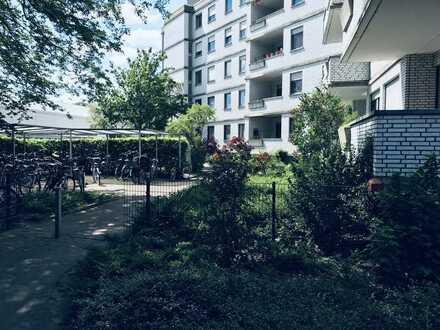 heles und ruhiges Apartement mit Balkon in Top-Lage von Münster
