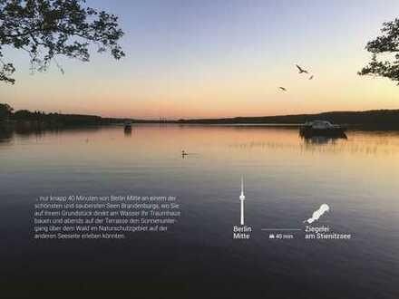 Traumhaftes Wassergrundstück am Stienitzsee