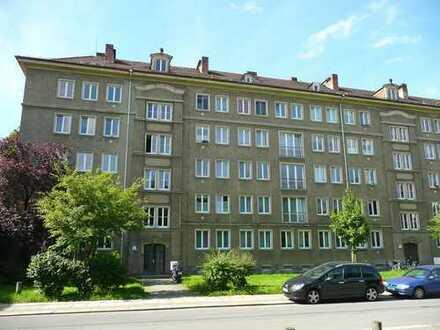 Zentrumsnah, aber ruhig gelegene 3- Zimmerwohnung mit Balkon