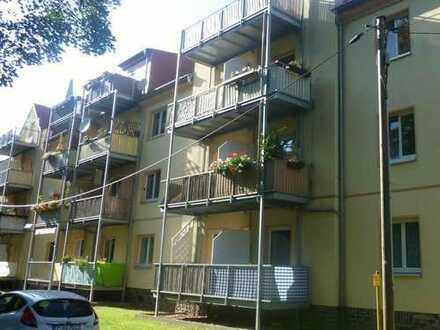 Ideal f.Studenten: Ruhig gelegene 1-Raum-Wohng.mit gr.Tageslicht-Küche/-Bad u.Balkon
