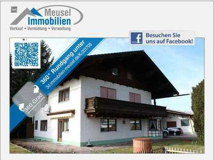 Wohnhaus mit Gewerbehalle (ehem. Schreinerei) in Türkheim
