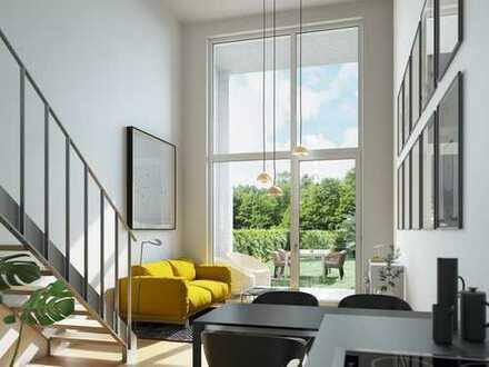 """Letzte Chance in unserem Projekt """"VIVO"""" in Regensburg ! Loftwohnung mit bis zu 4,80 Meter Raumhöhe!"""