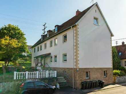 3-Zimmer-Wohnung zu vermieten in gepflegtem Mehrfamilienhaus in Kusel