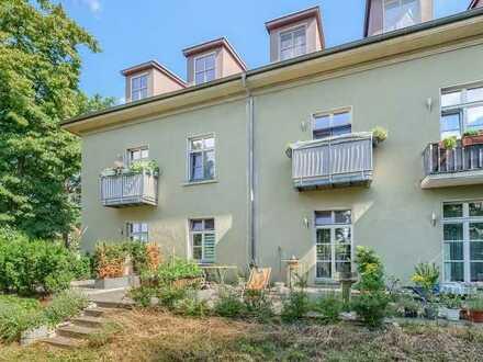 IMMOBERLIN.DE - 2-Zimmer-Wohnung mit Sonnenterasse im Grünen