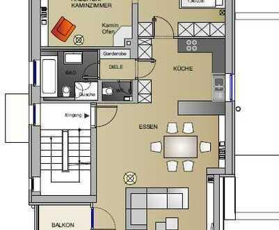 Exklusive, modernisierte 3-Zimmer-Wohnung mit Balkon in Essen