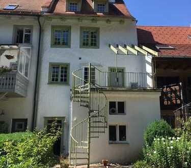 Ruhig gelegenes historisches Haus in Hüfingen mit Sicht auf die Breg