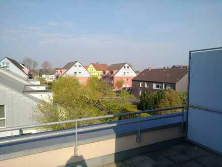 Barrierefreie, traumhafte Wohnung im Ortskern von Asseln mit großer Süd-Dachterrasse!