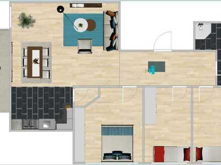 Neubau mit Balkon: ansprechende 4-Zimmer-Wohnung in Diedorf