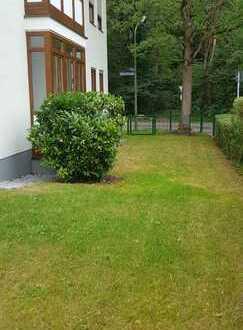 Sonnige neu renovierte 2 Zimmer Gartenwohnnung mit Hobbyraum und gemütlichem Kaminofen