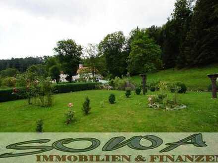 Liebhaberwohnung mit großem Garten in idyllischer Lage am Waldrand - Altmühltal - Ein Objekt von ...