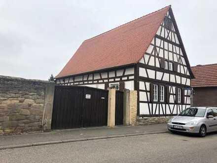 Achtung Bauträger! Baugrundstück mit Fachwerkhaus in Schifferstadt