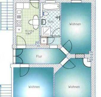 3-Zimmer-Eigentumswohnung im historischen Paulusviertel - Für Sie provisionsfrei!