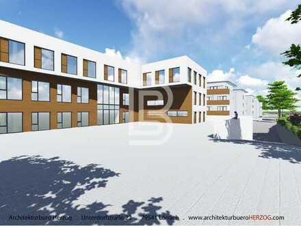 Weil am Rhein: Projektiertes Büro/Praxis- Gebäude im Dreiländereck