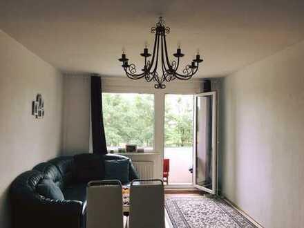 1-Zimmerwohnung mit großem Balkon nahe Stadtpark