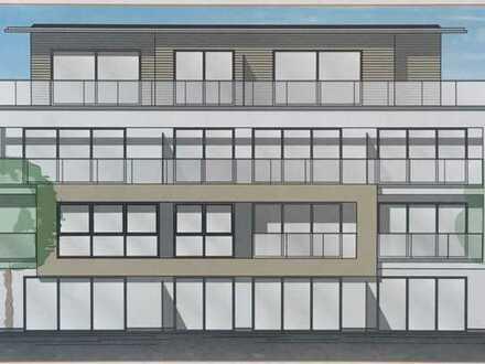 Neubau: Erstbezug einer 3-Zimmer-Wohnung mit Süd-Balkon in Ottobeuren