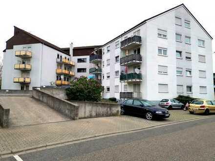 Attraktiv gelegene 1-Zi. Wohnung mit sep. Küche / Bad / Südbalkon / Tiefgaragenplatz / Kellerraum