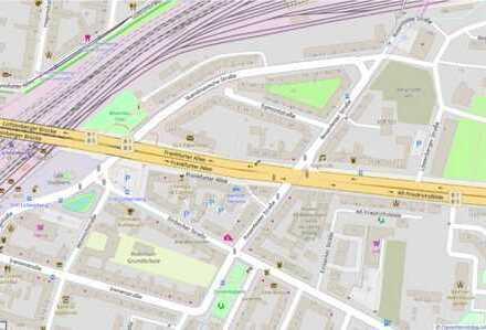 Berlin Lichtenberg: unbebautes Baugrundstück Frankfurter Allee