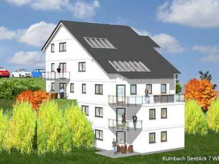 """Seeblick"" Kulmbach-Burghaig – Neubau Whg. 3: Moderne 3 ZKB mit Dachterrasse"