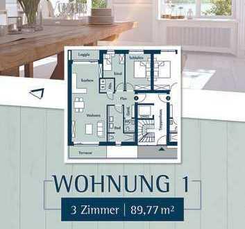 Schöne 3 Zimmer Wohnung im Hochparterre zum Wohlfühlen direkt am Klostergarten in Husum