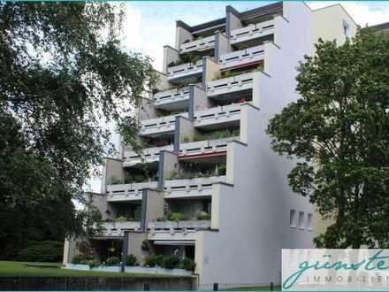 Unna-Königsborn: Schönes 54m² großes Apartment mit großer Terrasse und Tiefgaragenstellplatz!