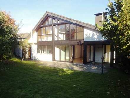 Lichtdurchflutetes Architektenhaus | 4,5 Zimmer | 130m²WF+60m² NF | ruhige Bestlage | südwest Garten