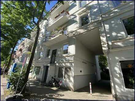 Gut vermietet und modernisiert Nähe Lutterothstraße 1 Zimmer Wohnung mit großer Wohnküche