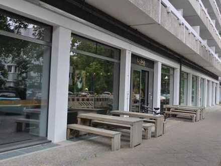 Modernes Restaurant unweit Pausborner Straße und Kudamm Nähe - klimatisiert