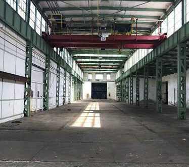 Lager-/Produktionshalle (ca. 1.124 m²) mit Kranbahn u. Freifl. im Industriegebiet von 56564 Neuwied