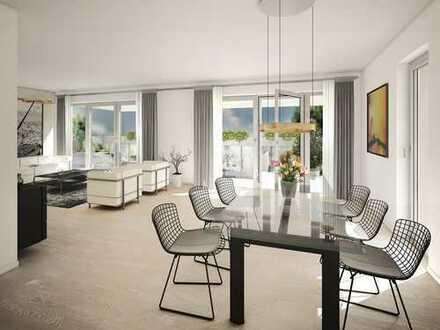 Wohnen und Arbeiten in neuer Dimension! Moderne Wohnwelt mit Loggia + Arbeitszimmer in Top-Lage