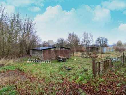 Ostseeidyll mit viel Potenzial: Riesiges Grundstück mitten im Grünen auf der Halbinsel Drigge