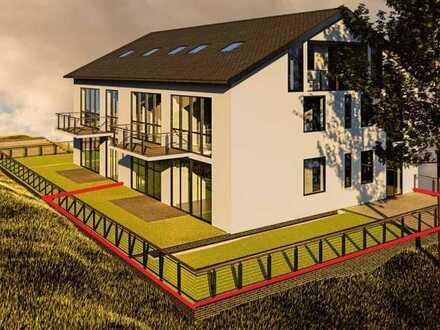 BAUBEGINN IN KÜRZE: Gartenwohnung mit 4,5-Zimmer-Wohnung mit Terrasse in begehrter Wohngegend.
