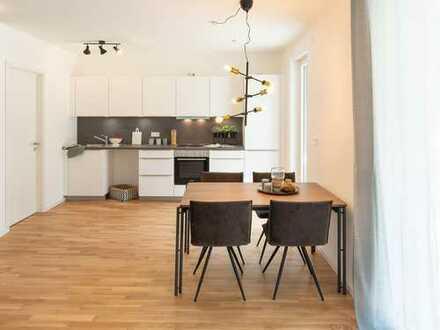 Exklusiver Neubau: 2-Zimmer-Wohnung mit EBK und Balkon in der Tübinger Innenstadt