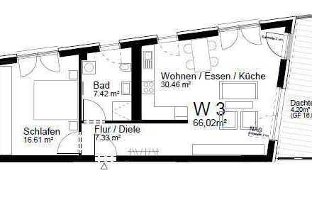 Tolle 2-Zimmer-Wohnung mit Balkon und Einbauküche zentral in Gengenbach