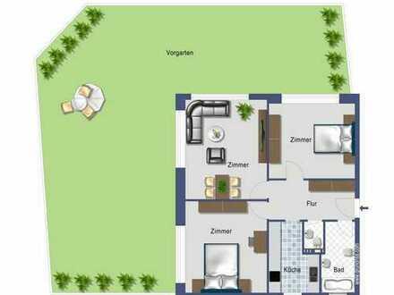 Schöne 3-Zi-Erdgeschoßwohnung mit Garten!