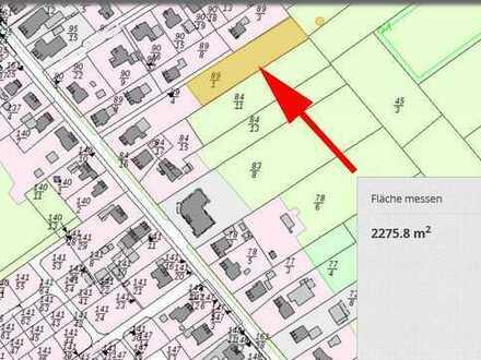 Warsingsfehn, zentrumsnahes, großes Grundstück, mit privater Zuwegung, gegen Gebot zu verkaufen. M19