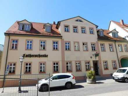Gaststätte mit Biergarten im Zentrum der Lutherstadt!