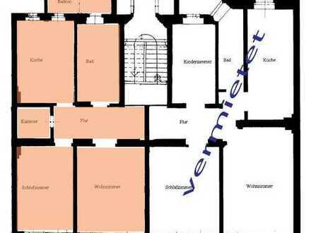großer Balkon mit Gartenblick; idyllische 2R-Whg mit Balkon, provisionsfrei
