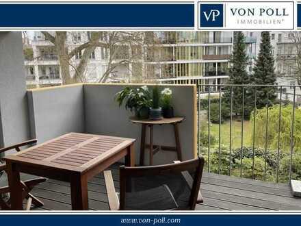 Moderne hochwertige Fünf-Zimmer-Wohnung mit Balkon