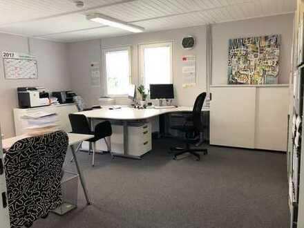 Vermietung von 3 Büroräumen in Steinenbronn (inkl. Küche, WC & Kundenparkplatz zusätzlich vorhanden