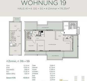 Penthouse über zwei Etagen - Schöne Aussichten garantiert!