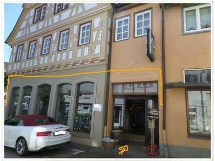 Ladenfläche in der Innenstadt von Besigheim zu vermieten!
