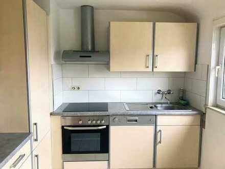 3 Zimmer-Wohnung ausbaubar als Maisonettenwohnung mit eigenem Gartenanteil.