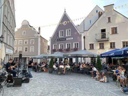 Café / Bistro / Restaurant in Abensbergs bester Lage!