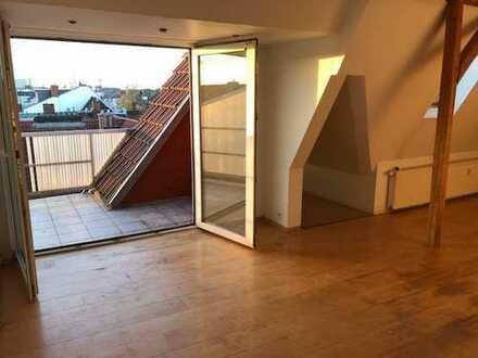 VON PRIVAT: Helle, ruhige, große 2 Zimmer-Wohnung im Jugendstilhaus, SCHWACHHAUSEN