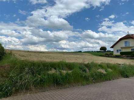 Großes Baugrundstück in idyllischer Feldrandlage von Büdingen-Eckartshausen