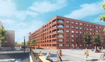 Einzigartig! 2 Zimmer mit Einbauküche und Loggia mit Panoramablick auf den Zollhafen